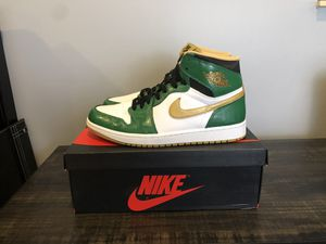 "Jordan Retro 1 High OG ""Celtic"" 2013 (Size 9.5) for Sale in Parkland, FL"