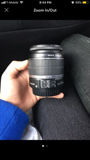 Canon EPS 18-55 mm lense for Sale in Waukegan, IL