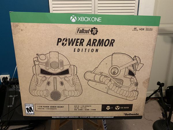 Fallout 76 — Power Armor Edition Xbox One Brand New Sealed