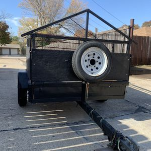 Trailer 4x6 Con Título Exelentes Condisiones for Sale in Irving, TX