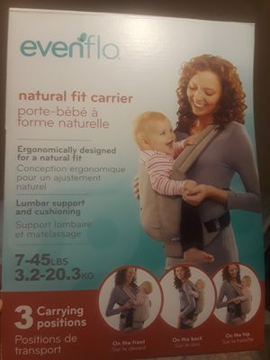 Evenflo baby carrier for Sale in Lake Worth, FL