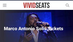 Marco Antonio Solís tickets 🎫 for Sale in Marietta, GA