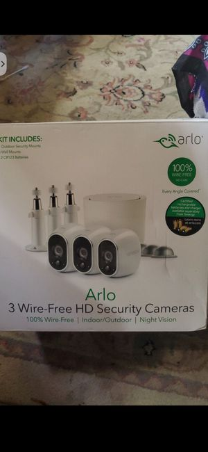 New 3 Camera Arlo wireless security system $150 for Sale in Denver, CO