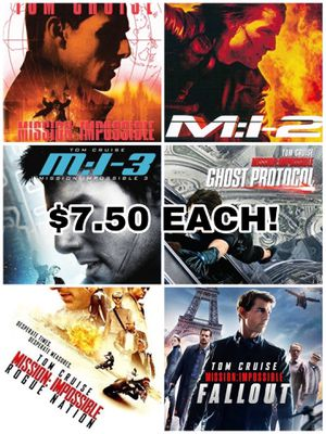 Mission: Impossible movie digital codes for Sale in Henderson, NV