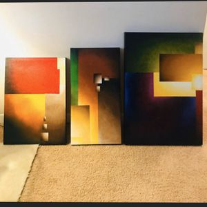03 matching canvas for Sale in Falls Church, VA