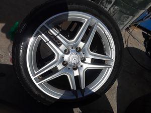 AMG rims Mercedes Benz rims ml rims GL rims C-Class rims E-class rims as glass rims AMG Wheels Mercedes Benz wheels C Class Wheels for Sale in Fullerton, CA