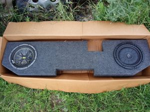 "Qpower 02 Ram Quad Cab Dual 10"" Sub Box for Sale in Kyle, TX"