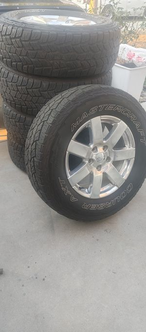 Jeep wrangler Sahara wheels for Sale in Menifee, CA