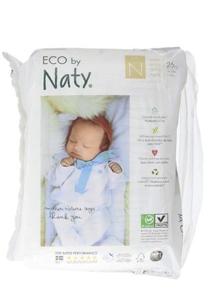 Naty Organic Diapers - 26 Count Newborn for Sale in Redlands, CA