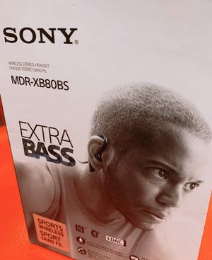 Sony mdr-xb80bs extra bass for Sale in Rosemead, CA