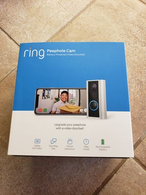 Brand new Ring Peephole Cam for Sale in Bakersfield, CA