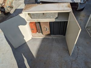 Metal Cabinets TV small couch, garage clean out for Sale in Tustin, CA