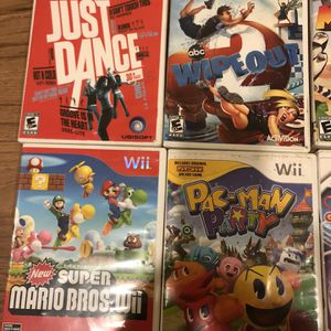 Wii Games for Sale in Sanger, CA