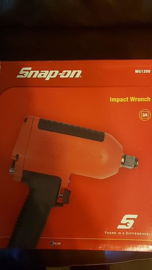 SNAP ON 3/4 IMPACT WRENCH. for Sale in UPR MARLBORO, MD