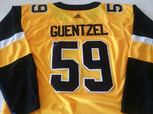 New Adidas Pittsburgh Penguins #59 Jake Guentzel Alternate jersey sizes small to 3XL all names, numbers and logos are stitched on jersey for Sale in Sharpsburg, MD