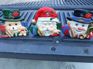Christmas candle holders a dollar each for Sale in Santee, CA