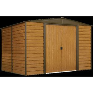 💥✨💥Arrow Woodridge Shed, 10 x 8 ft, Steel Shed with Wood Finish for Outdoor Storage 💥✨💥 for Sale in Las Vegas, NV