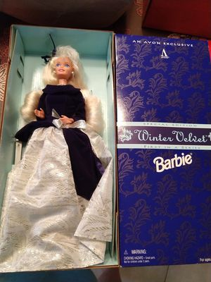 $10 Avon Winter Velvet Barbie for Sale in Fort Lauderdale, FL