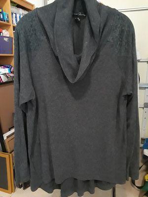 Women- Grey Sweater 1X for Sale in El Cajon, CA