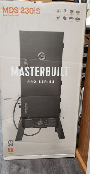 BBQ SMOKER DUAL FUEL CHARCOAL & PROPANE BRAND NEW for Sale in Fresno, CA