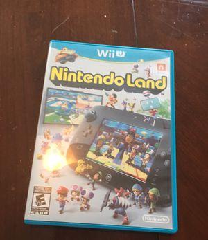 Wii U Nintendo Land for Sale in Greenwood, IN