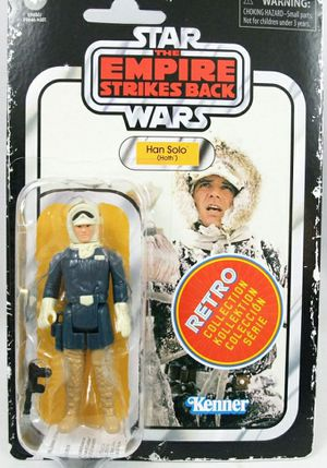Star Wars Retro Collection Han Solo (Hoth) Toy 3.75-inch Scale Star Wars: The Empire Strikes Back Figure, for Sale in Yakima, WA