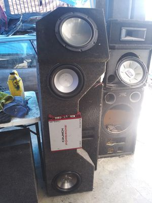 Subs and amp for Sale in San Diego, CA