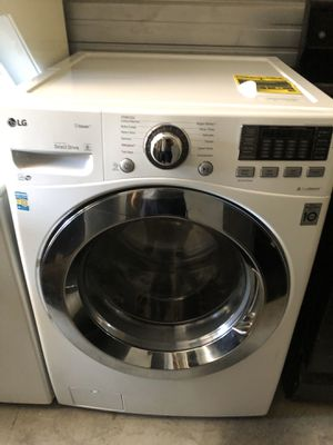 LG front load washer large capacity for Sale in Santa Ana, CA