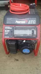 Yamaha ATG Powermate 5,700 watt generator