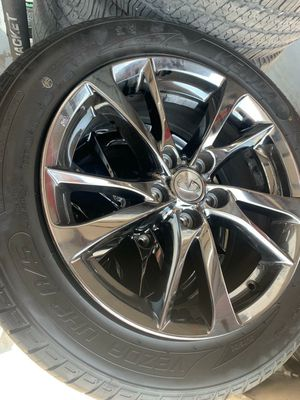 Infiniti rims and tires for Sale in DeSoto, TX
