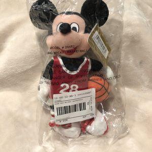 Vintage Disney Basketball Mickey Bean Bag for Sale in Reedley, CA