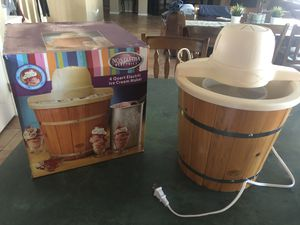Electric Ice Cream Maker for Sale in Peoria, AZ