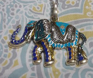 Elephant necklace for Sale in Waukegan, IL