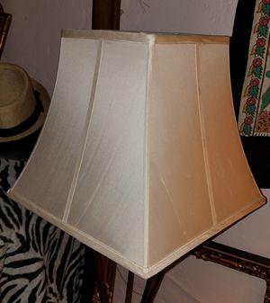 Vintage raw silk lamp shade for Sale in Phoenix, AZ