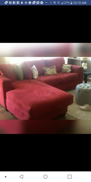 Sectional couch sofa bed queen mattress for Sale in Fresno, CA