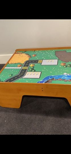 FREE TODAY Kids Car/train Table for Sale in Downers Grove,  IL