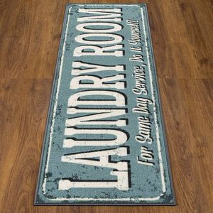 "Blue Laundry Room Rug 20"" x 59"" for Sale in Spring, TX"