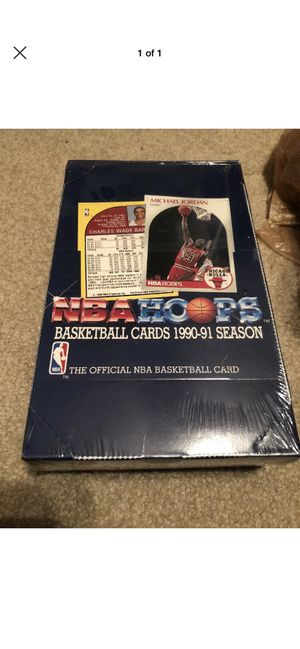 90-91 hoops basketball unopened box for Sale in Indian Trail, NC