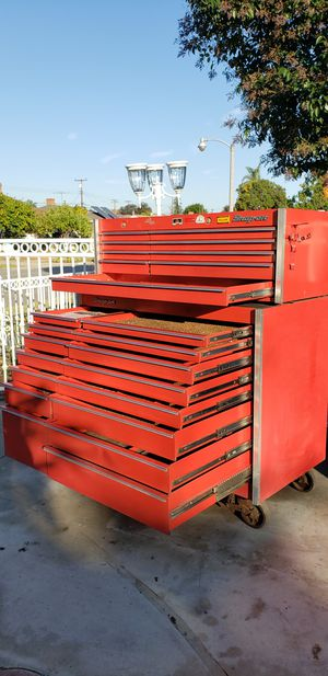 Snap on rolling tool chest combo for Sale in Fullerton, CA