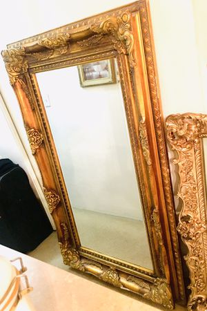 Stunning Antique Gold Leaf Mirror for Sale in Los Angeles, CA