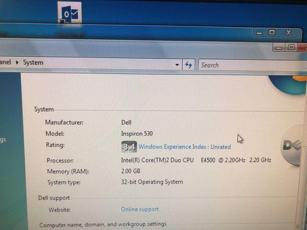 dell inspiron 530 drivers windows 7 32 bit