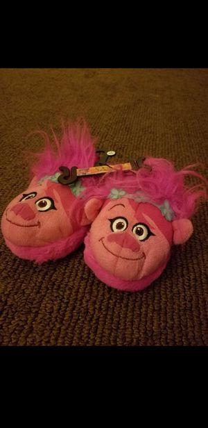 Trolls poppy house shoes for Sale in San Antonio, TX