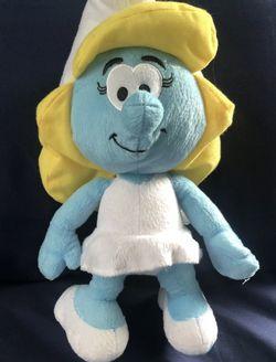 Nanco Smurfette girl stuffed plush toy doll The Smurfs movie Peyo 2010 for Sale in Providence,  RI