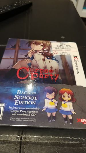 Corpse Party Collectors Edition Nintendo 3DS for Sale in Gainesville, VA