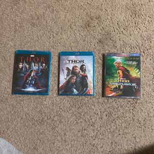 Thor Blu-ray Trilogy for Sale in Denver, CO