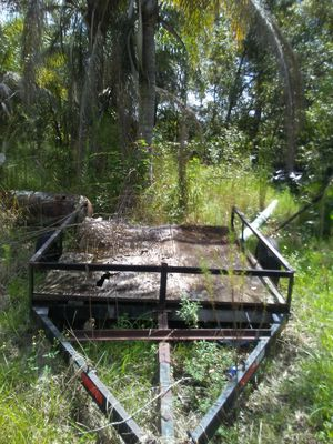 14ft trailer new tieres5ftwide for Sale in Frostproof, FL