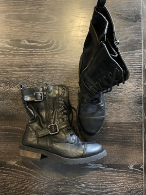 Girls 6.5 boot; Girls 10/12 jacket for Sale in Clovis, CA
