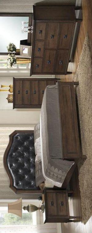Bianca Brown Panel Bedroom Set for Sale in Brooklyn Park, MD