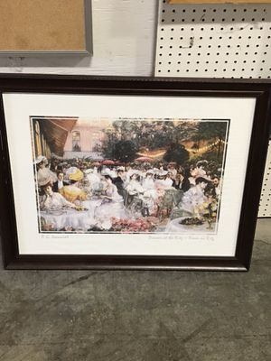 Art picture Sell $60.00 or best offer $ for Sale in Columbus, OH