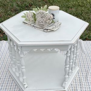 Distressed Side Table/End Table for Sale in Brooksville, FL